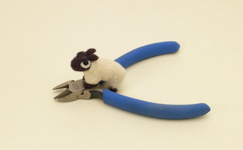 羊毛フェルト道具 ニッパー