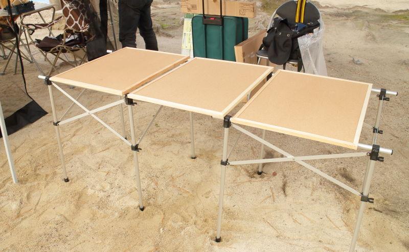 てづくりサーカス 2016.12 テーブル組み立て
