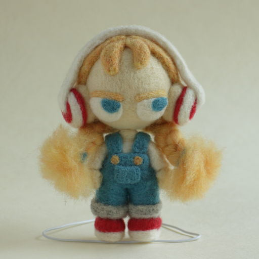 ドールワールドフェスティバル2017 羊毛フェルト人形