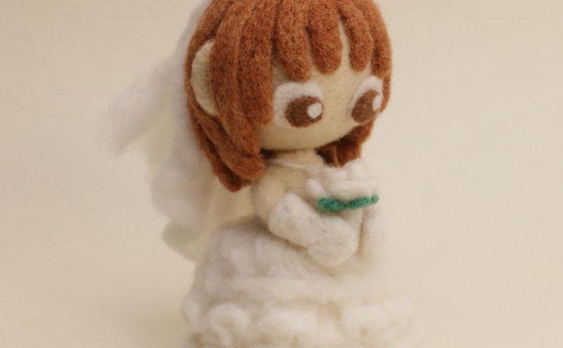 羊毛フェルト人形 リン