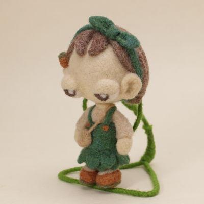 ワンダーフェスティバル2017夏 羊毛フェルト人形オリーブ