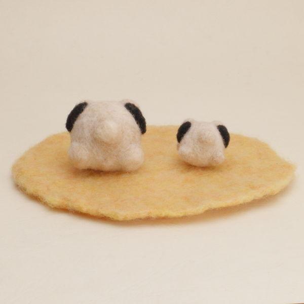 羊毛フェルト人形 パグタロー