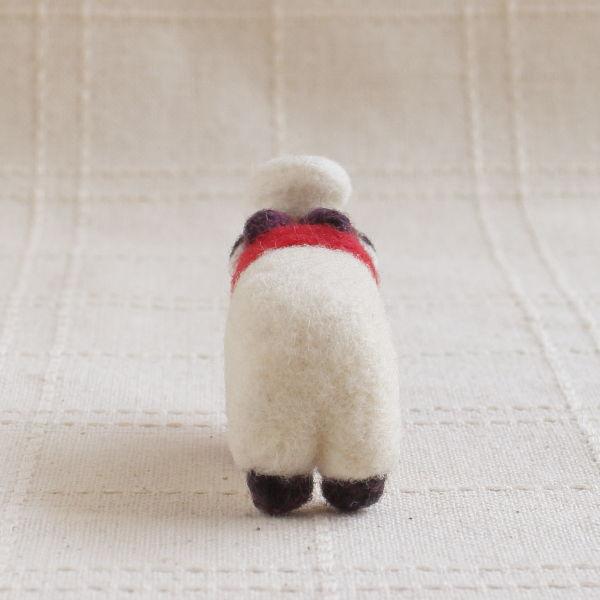 羊毛フェルト人形 ひつじくん ver.シェフ