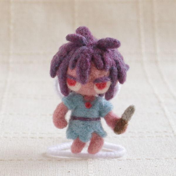 羊毛フェルト人形 グラ