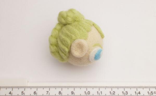 羊毛フェルト人形 制作過程