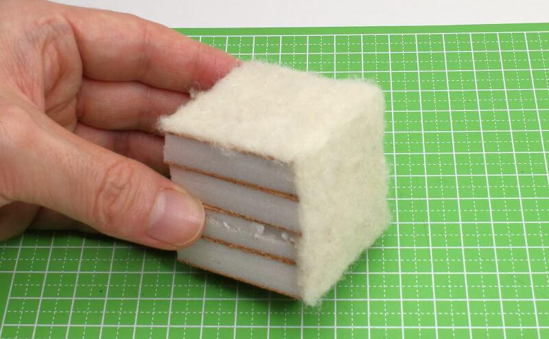 羊毛フェルト サイコロ 作り方
