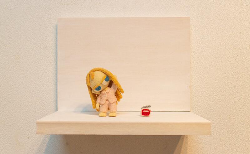actartcom2018 羊毛フェルト人形
